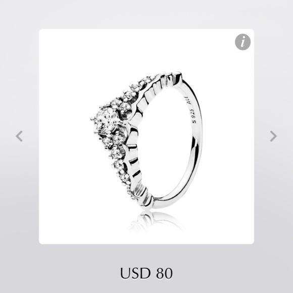 59337e31c Pandora Jewelry   Fairytale Tiara Ring   Poshmark